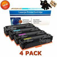 4 Pack High Yield CF400X Toner For HP 201X Laserjet Pro MFP M252dw M277 M277dw