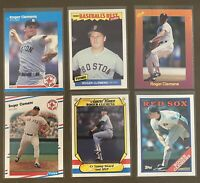 Roger Clemens 6-card lot: 1987 Fleer, 87 Fleer Baseball's Best, 87 Fleer AWs etc