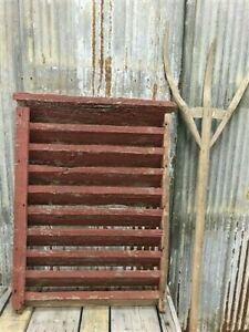 Wood Barn Louver, Architectural Salvage Shutter, Rustic Decor, Old Barn Vent i,