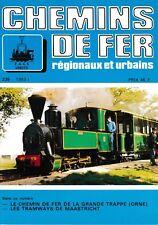 CHEMINS de FER RÉGIONAUX et URBAINS - N° 235 (1993 - 1) (FACS - CFRU) (Train)