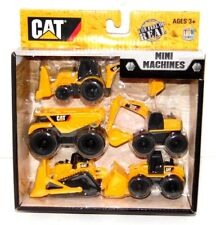 Cat Mini Machines- Caterpillar Construction Toys- 5 Piece Set- Free Shipping NEW