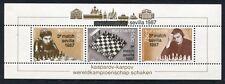 SURINAM 1987 Schach Chess Karpov Kasparov Block 46 ** MNH