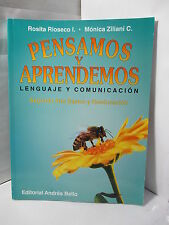 PENSAMOS Y APRENDEMOS LENGUAGE Y COMUNICACION SEGUNDO ANO BASICO Y REEDUCACION
