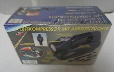 W020-014: Inotrend Luftkompressor mit Arbeitsleuchte 230/12V