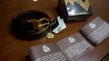 Cintura coccodrillo originale Mario Valentino 115cm Nuova mai utilizzata