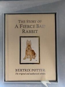 The Story of a Fierce Bad Rabbit by Beaxtrix Potter Limited edition cased set