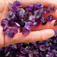 50g Natural Amethyst Gravels Crystals Brazil Lavender Purple Rough Stone Rock