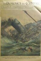 LA DOMENICA DEL CORRIERE N.42 1942 I SOMMERGIBILI ITALIANI