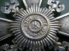 Preussen-Verdienstkreuz für Kommandeure  in 800er Silber verm. Sy&Wagner