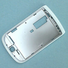 100% Genuine Blackberry Torch 9800 front bezel screen surround white side+top