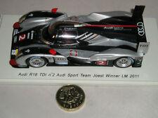 Coche de automodelismo y aeromodelismo Spark Audi