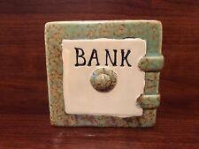 Ceramic Piggy Bank Safe with Stopper