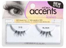 8 Pairs Andrea Modlash Accent 318 False Eyelashes Strip Lashes Black 23308