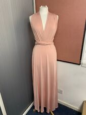 15 X Bridesmaid Long Dresses Prom Dress Multi Way Strap Different Colours New