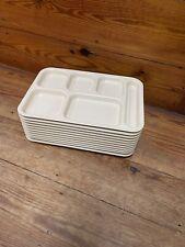 11 x School Lunch Tray CAMBRO 10146CW Tan Arrowhead ARR 141 USA