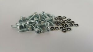 """Sifab 6x10"""" Fuel Cell Fill Plate Bolt Kit (24) - (Custom, Classic, Fabrication)"""