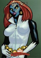 MYSTIQUE / 2007 Marvel Masterpieces BASE Trading Card #61