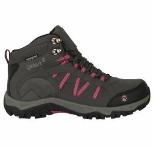 GELERT Horizon Mid Waterproof Ladies Walking Boots grey UK 6 US 8 *REFCRS85