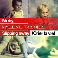 Mylène Farmer / Moby CD Single Slipping Away (Crier La Vie) - France (EX/VG)