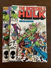 New listing Incredible Hulk #321 - 322 (1986, Marvel) Lot Of 2 Avengers Nm-s