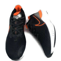 Nike Men's Renew Run Black Total Orange Running Shoes CK6357-001 Size 11