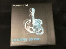 Logitech G Extreme 3D Pro (963290-0403) Gaming Joystick in Box! Silver Black USB