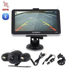7'' GPS Navigation Truck SAT NAV Bluetooth+Wired Rearview Reverse Camera XGODY