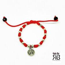Newborn Bracelet  St Benedict Pulsera Para Bebe De La Medalla San Benito