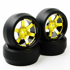 RC 4Pcs 12mm Hex Drift Tire&Wheel For HSP HPI 1:10 On-Road Racing Car NKG&369