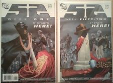 """52"" complete DC universe issue series w/ 52 Aftermath: The Four Horseman"