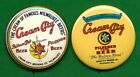 Cream City Brewing STYLE **PINs( (2)  Milwaukee Wisconsin Pilsner Beer Adv