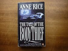 Anne Rice The Tale of the Body thief fantasy paperback vampires chronicles 4