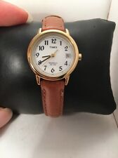 Timex Women's T2J761 Easy Reader Brown Leather Strap Casual Watch-H72