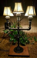 Modern Industrial Pipe Lamp with shades