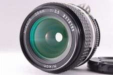 【Excellent+++++】 Nikon Nikkor Ai-s 28mm f/3.5 AIS MF Lens from Japan 0023N