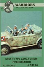 Warriors 1:35 Steyr Type 1500A Crew Wehrmacht 3 Resin Figures Kit #35276