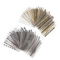 24 feuilles/Set Metal Wave Strip 3D Nail sticker Lines autocollant manucure