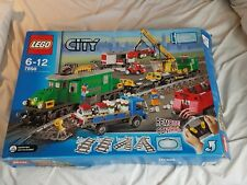 LEGO Trains Cargo Train Deluxe (7898) Used in box 99% complete
