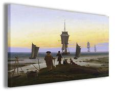 Quadro moderno Caspar David Friedrich vol II stampa su tela canvas riproduzioni
