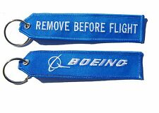Boeing Remove Before Flight  Key Tag Luggage Tag Key Ring