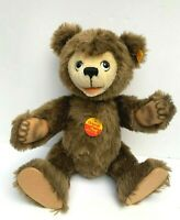VINTAGE STEIFF BEAR 0255/35 JOINTED PLUSH MADE IN WESTERN GERMANY EUC