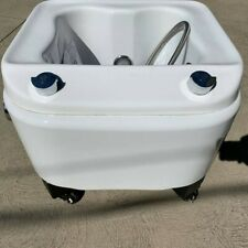 SkinAct Professional Portable Pedicure Spa with Free Standing Foot Rest