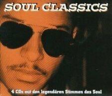 Soul Classics Aretha Franklin, Wilson Pickett, Temptations, Otis Reddin.. [4 CD]