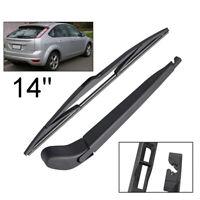 For Ford Focus MK2 04-11 Rear Windscreen Wiper Blade Arm Set Kit