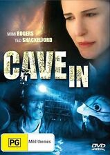 CAVE IN DVD 2003 Brand New Region 4 Mimi Rogers, Ted Shackelford - MINERS MINING