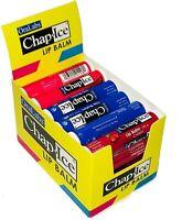 Nice! Bulk 24 Count Lip Balm Moisturizing Sticks Protect Spf 4 Assorted Flavors