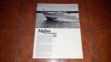 Brochure Catalogue Advertisement Alglas Pacemaker Cruiser Sport Fisherman 1970