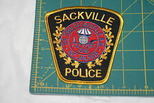 CANADA Sussex New Brunswick Police Shoulder Patch
