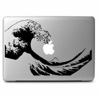 Japanese Wave fuji Mountain Sticker Decal for Macbook Air Pro Laptop Car Window