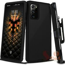 For Samsung Galaxy Note 20 Ultra Case Cover | Belt Clip Fits Otterbox Defender